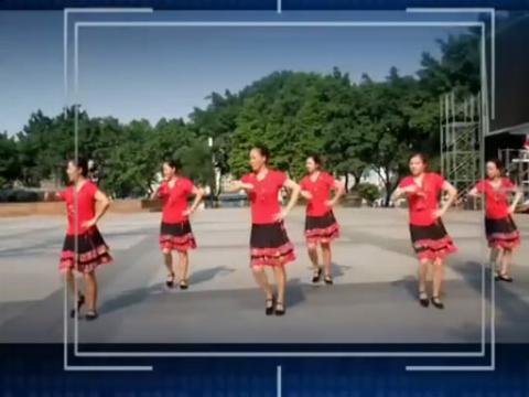 重庆叶子广场舞你是我的红玫瑰图片