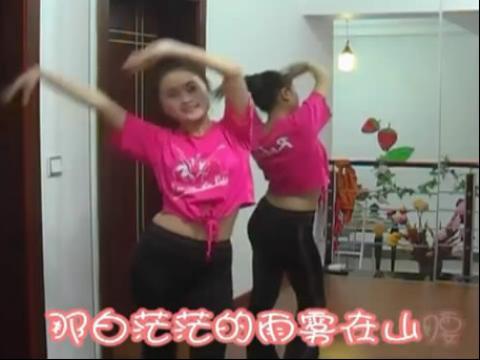 儿童舞蹈视频《清早听到公鸡叫》美女老师示范