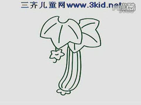 儿童简笔画葫芦娃展示