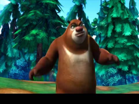 熊二小时候图片_熊出没熊二表情包_熊二肌肉_熊二