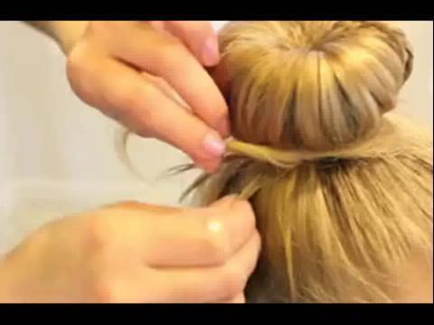 儿童盘发发型视频 步骤分享展示