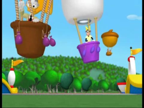 [迪士尼 米奇妙妙屋]唐老鸭的热气球赛 下部