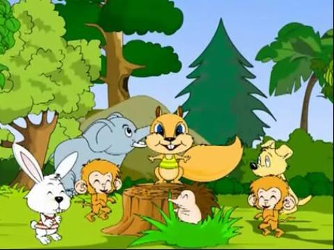 幼儿优秀童话故事之小黄莺唱歌