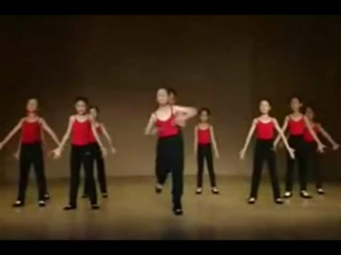 儿童手绢舞舞蹈分解教学视频