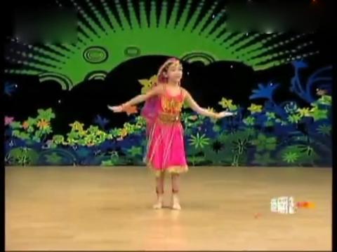 幼儿儿童舞蹈《天竺少女》幼儿舞蹈教学视频