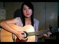 美女电吉他弹奏江南styl