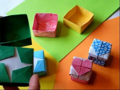 手工制作大全__折纸_diy手工折纸盒