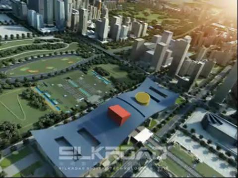 建筑动画:深圳NEO大厦