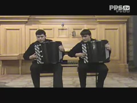 pps视频:【巴扬手风琴】二重奏维瓦尔第夏第三乐章