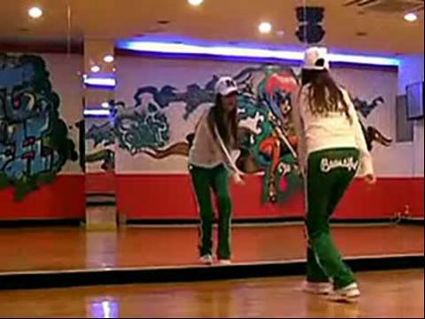 韩国美女鬼步舞视频教学