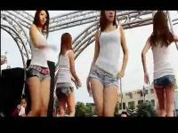 重低音dj美女热舞 性感摇摆舞蹈