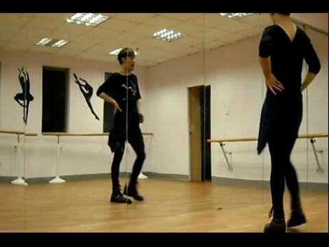 现代舞蹈爵士舞入门教学视频分解动作
