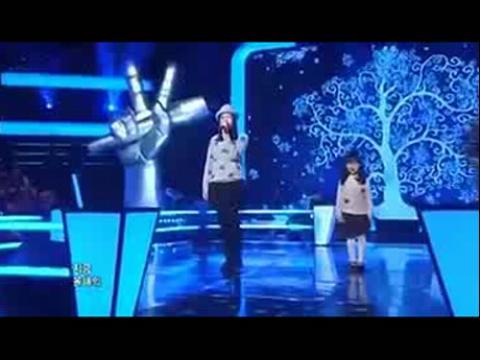 韩国好声音《雪之花》儿童版唱哭全场