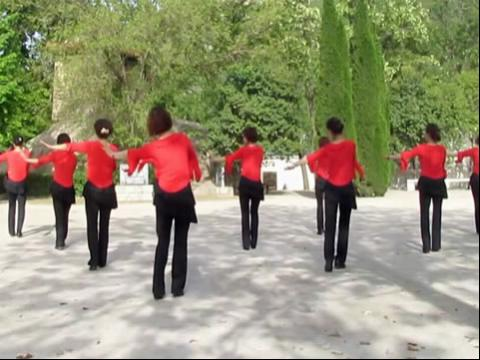 美女广场舞印度美女