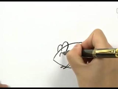 幼儿学画画视频教程向日葵