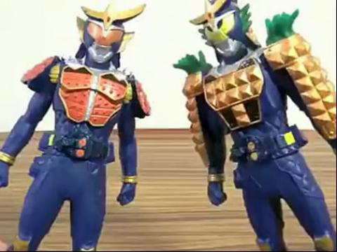 假面骑士铠武-食玩人偶