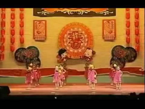儿童舞蹈视频_我爱洗澡