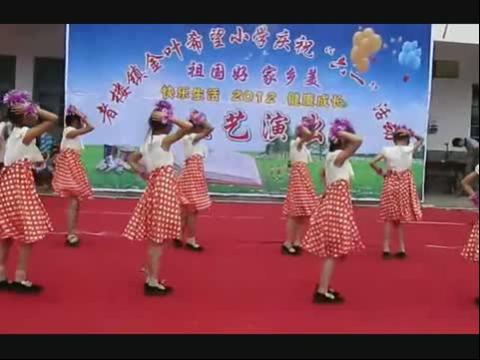 六一儿童节舞蹈 踏浪 小学生舞蹈