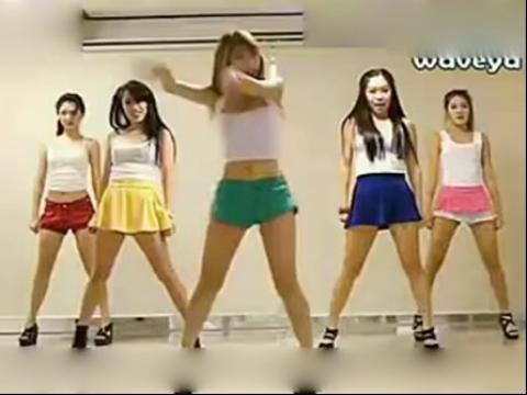 【现代舞】教学 韩国现美女组合舞蹈视频