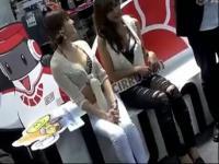 韩国乳神级美女打台球