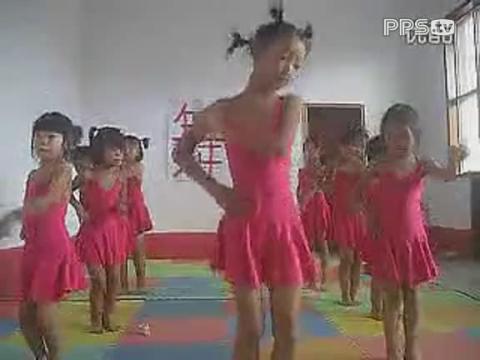 最炫民族风 儿童舞蹈