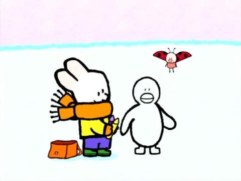 宝宝学画画小兔子