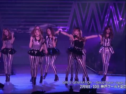 少女时代日本二巡演唱会