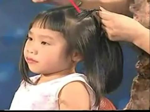 盘头发方法学习 小女孩发型绑扎方法图片