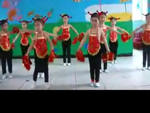幼儿舞蹈视频《开门红》