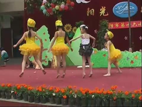 六一儿童节幼儿节目音乐情景剧《丑小鸭》