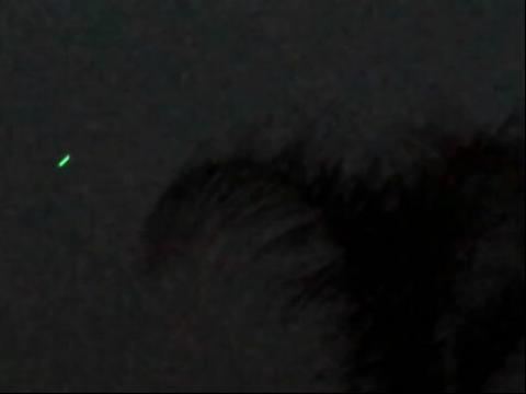 现飞机追逐ufo