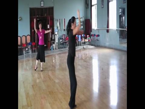 舞蹈教学视频 民族舞 形体舞绒花