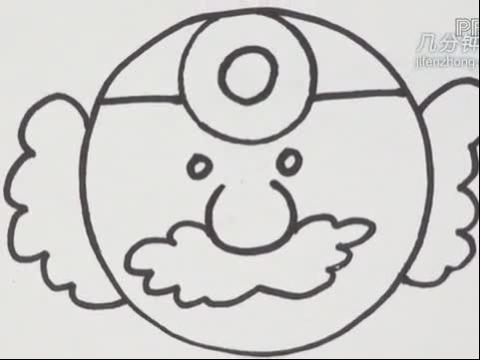 圆形联想简笔画