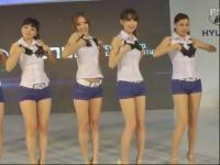 三个韩国美女舞蹈教学