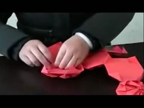 diy手工制作 折纸灯笼