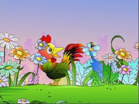 儿童故事大全_儿童故事在线听-爱美的小公鸡
