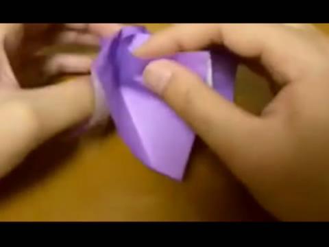 手工制作玫瑰花 折纸大全视频
