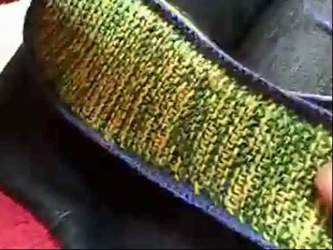 手工制作大全 毛线拖鞋编织
