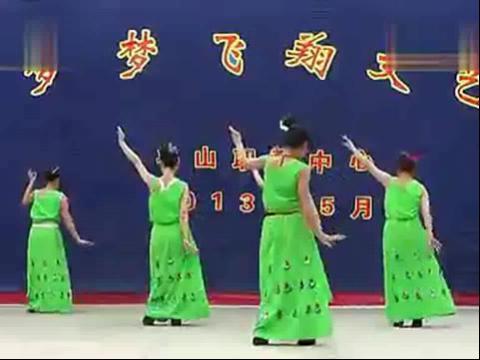 傣族舞蹈月亮