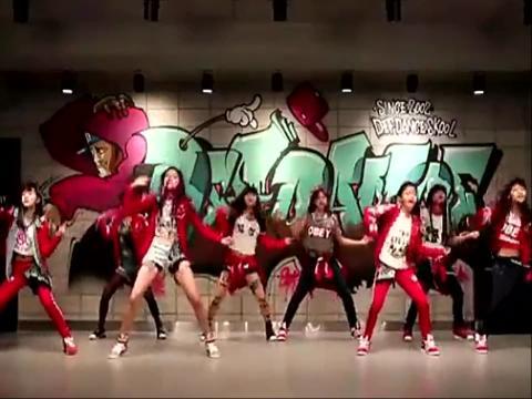 现代舞 韩国现代舞美女少女时代