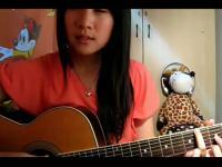 【超好听的】美女吉他弹唱